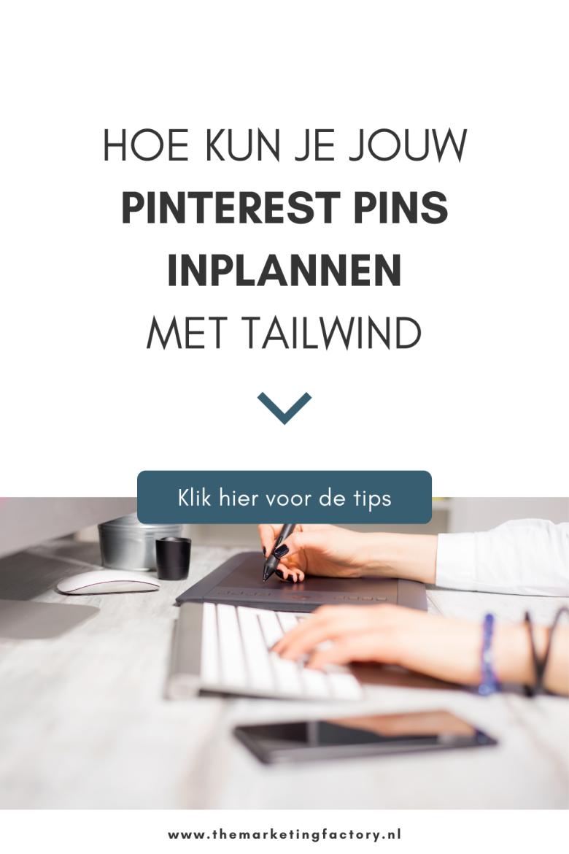 Tailwind is een tool om je pins automatisch op Pinterest te plaatsen. Maar eigenlijk is het veel meer dan dat. Tailwind kan veel meer voor je betekenen dan alleen het automatisch inplannen van je pins. Ik ben fan van deze tool n dankzij Tailwind lukt het mij om Pinterest marketing te managen
