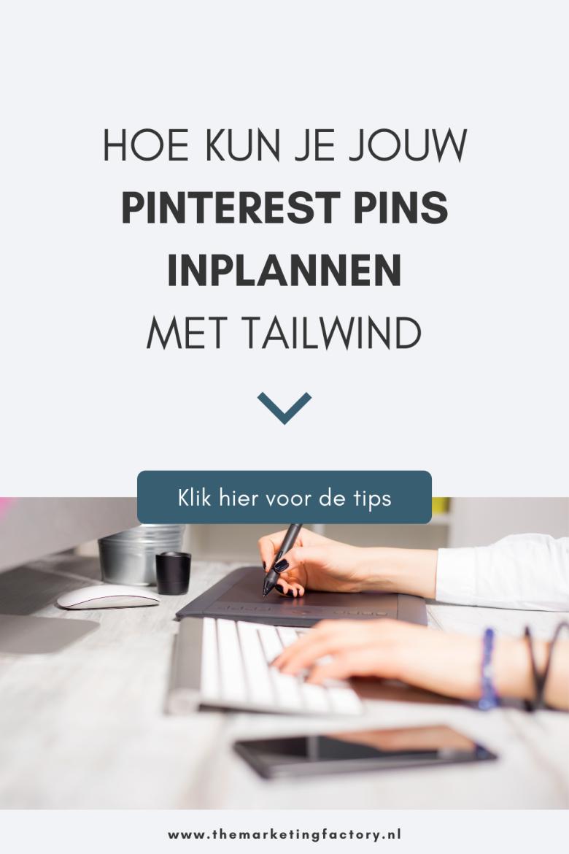 Pinterest marketing effectief inzetten? Dan is het handig om een tool als Tailwind te gebruiken om je pins in te plannen. Hierdoor kun jij je Pinterest marketing automatiseren, dus dat bespaart een hoop tijd. Ontdek hier hoe deze handige tool werkt en andere Pinterest marketing tips