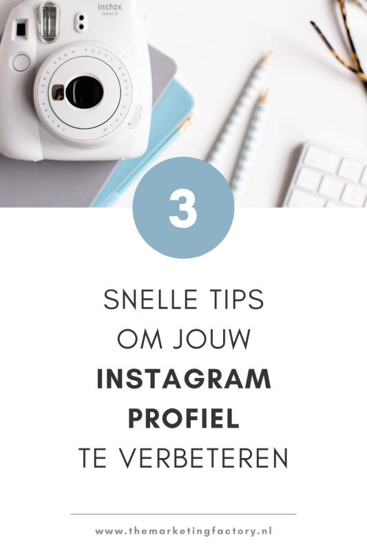 Instagram profiel aanmaken of verbeteren? Check deze 3 snelle Instagram tips die je direct kunt toepassen als je een nieuw profiel aanmaakt of om je Instagram account te verbeteren  How to use Instagram for business   Instagram marketing strategy