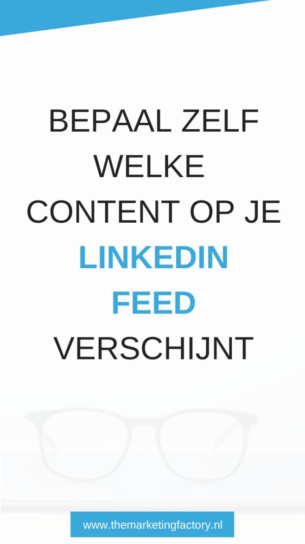 Linkedin tijdlijn aanpassen en Linkedin feed chronologisch weergeven | Linkedin marketing |  Linkedin tips | Linkedin feed wijzigen | Linkedin strategie | social media marketing | social media strategie | content marketing | online geld verdienen | ondernemerschap | ondernemers | online marketing | online zichtbaarheid | zzp | sociale media tips | netwerken | marketing | online ondernemen | #linkedin #socialmediatips  #themarketingfactory