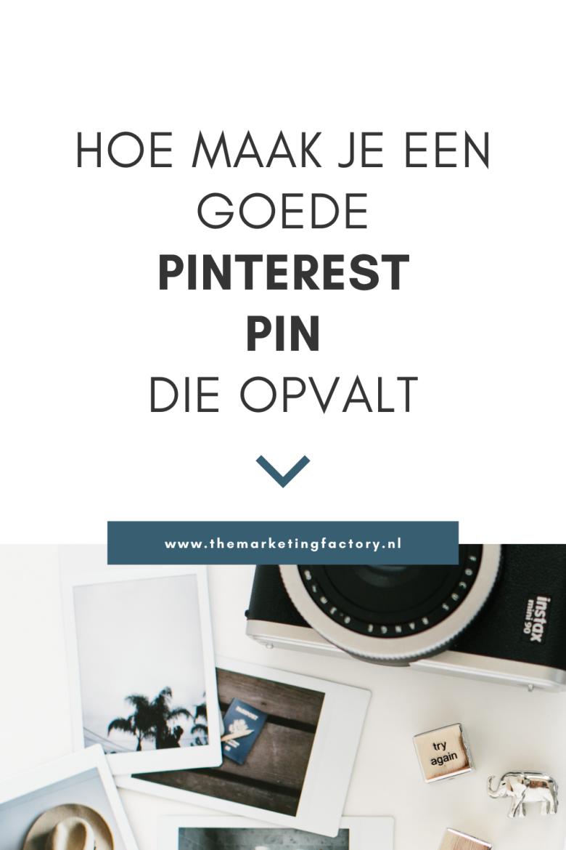 Wil je meer klanten halen uit je Pinterest marketing in minder tijd? Bekijk deze tips hoe je de perfecte Pinterest pin maakt. Een pin die opvalt in de Pinterest feed en de aandacht trekt van je klanten. Je hebt continu nieuwe verse pins nodig voor het beste resultaat met je Pinterest marketing. Dat kost tijd en je hebt nog wel wat meer te doen als ondernemer. Met deze handige tips maak jij de perfecte pin die opvalt in de Pinterest feed