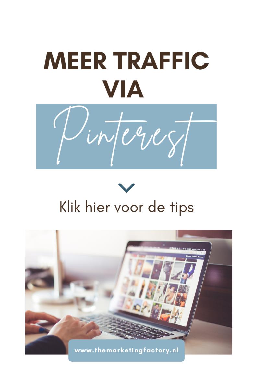 Weten hoe je Pinterest marketing 2021 inzet voor meer traffic? Check dan deze Pinterest marketing tips zodat je weet hoe jij het Pinterest algoritme slim inzet voor je business. Daardoor vergroot je de online zichtbaarheid en vindbaarheid van je bedrijf wat je meer klanten oplevert, zonder dat het meer tijd kost,. En haal je het meeste rendement van je inspanningen