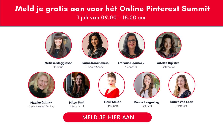 aanmelden gratis online pinterest summit