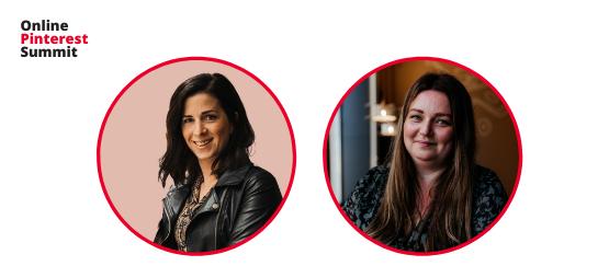 Pinterest summit - liv sessie sanne en milou