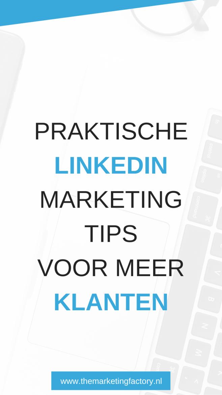 Linkedin marketing strategie verbeteren? Tips om meer uit je Linkedin profiel te halen met betaalde en gratis content | Linkedin marketing tips | Linkedin tips | Linkedin marketing strategie | Linkedin netwerk uitbreiden | Linkedin bedrijfspagina | social media strategie | online marketing | online verkopen | online ondernemen | #linkedin #themarketingfactory #onlinemarketing #socialmediatips