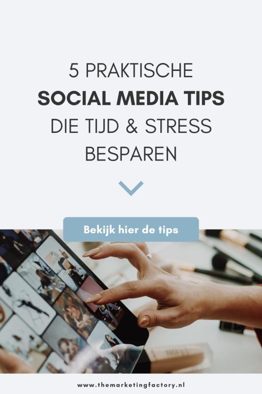 Als je social media lastig vindt of het je niet de gewenste resultaten oplevert, check dan deze handige social media marketing tips die je veel tijd en stress besparen