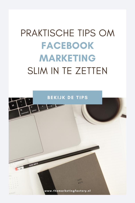 Wil je meer klanten of meer online verkopen? Dan is het goed om online zichtbaar te zijn. Facebook helpt je aan meer website bezoekers en klanten. Je kunt Facebook marketing op verschillende manieren inzetten voor je business. Lees hier 3 handige Facebook marketing tips die je direct kunt toepassen