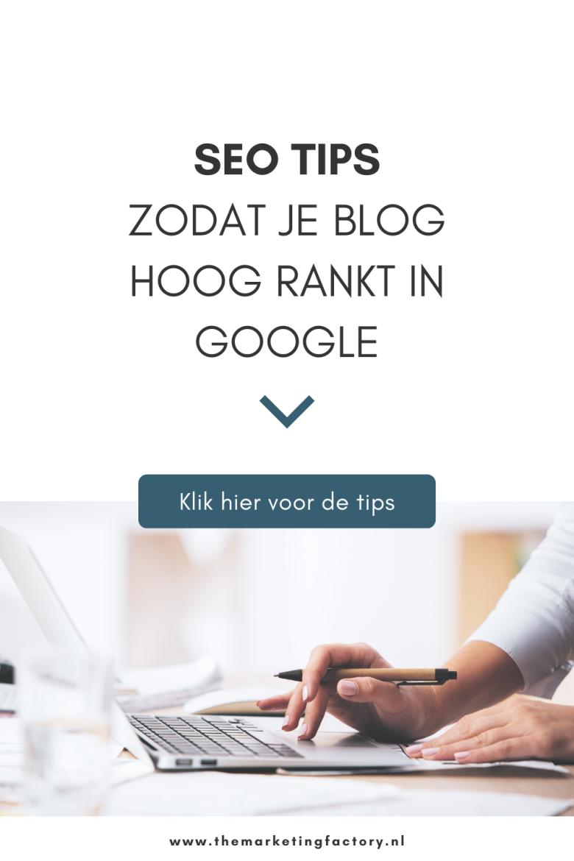 Starten met bloggen? Bekijk deze simpele SEO tips waardoor je blog hoger scoort in de Google zoekresultaten, zonder dat het veel van je kostbare tijd kost als blogger. Hierdoor kunnen meer nieuwe klanten je vinden