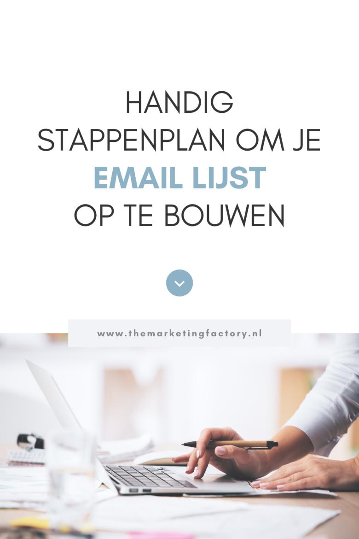 Wil jij een email lijst opbouwen als ondernemer? Check hier een handig overzicht met email marketing tips en email marketing tools om je email lijst op te bouwen. Zo'n lijst is belangrijk want via email marketing kun je contact onderhouden met klanten en is het makkelijker om online verkopen te krijgen