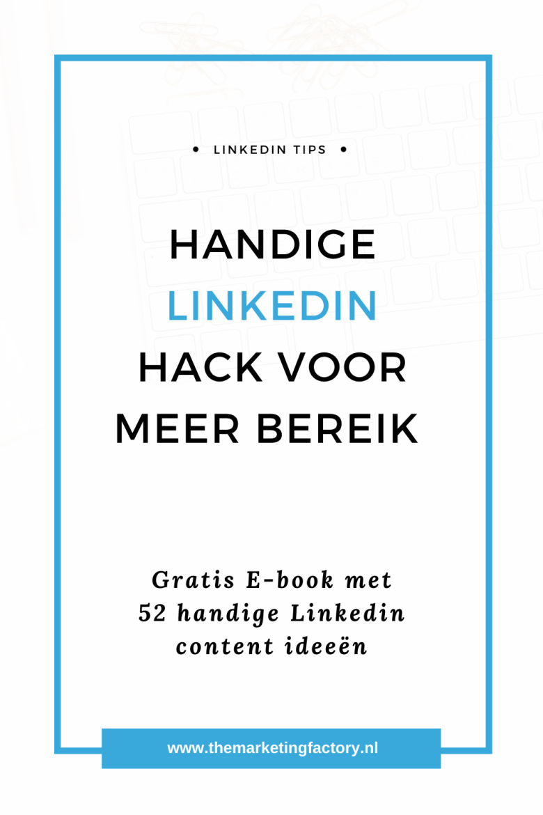 Zet jij Linkedin hashtags slim in zodat je eenvoudig meer mensen bereikt? Check deze handige Linkedin hashtag hack | Linkedin tips | Linkedin hashtag strategie | Linkedin hashtags | Linkedin marketing | social media plan | social media strategy | social media marketing strategie | social media tips | online marketing | online zichtbaarheid | blog tips | content marketing