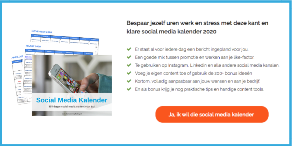 social media kalender | content kalender | social media content kalender