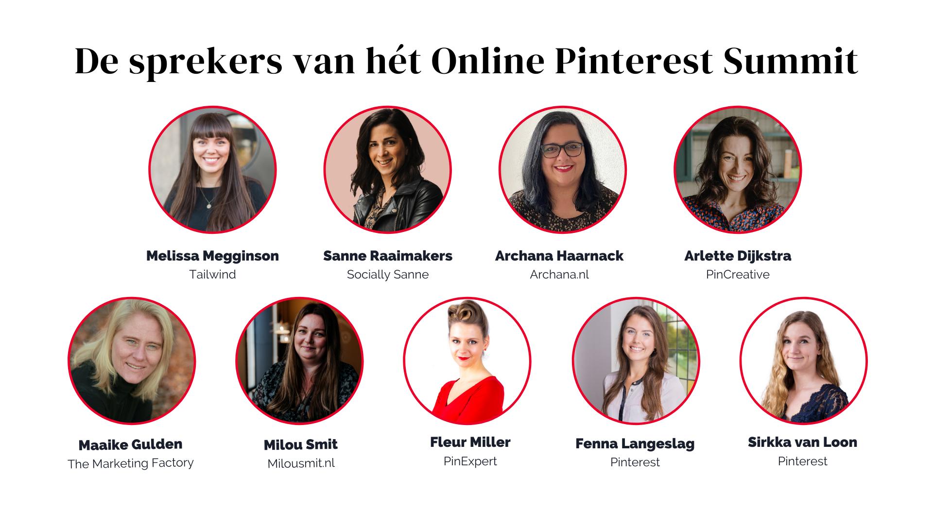 sprekers online pinterest summit