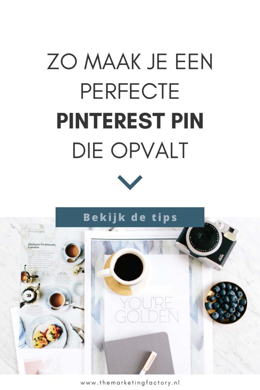 Handige tips hoe je de perfecte pin maakt. Een pin die opvalt en de aandacht trekt van je klanten. Al die nieuwe verse pins maken kost enorm veel tijd. En als je Pinterest marketing inzet voor je online marketing wil je natuurlijk zoveel mogelijk klanten bereiken met je pins. Hier vind je 7 praktische tips om de perfecte Pinterest pin te maken waar klanten graag op klikken