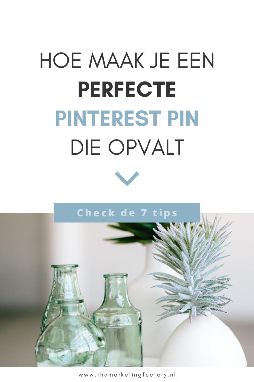 Meer klanten halen uit je Pinterest marketing in minder tijd? Hier vind je tips hoe je goede Pinterest pins maakt. Pins die opvallen in de Pinterest feed en waarmee je de aandacht trekt van je klanten. Je hebt continu nieuwe verse pins nodig voor het beste resultaat met je Pinterest marketing. Dat kost tijd. Met deze handige tips maak jij in no-time de perfecte pin