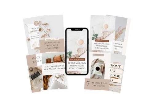 Vip pakket - Pinterest templates