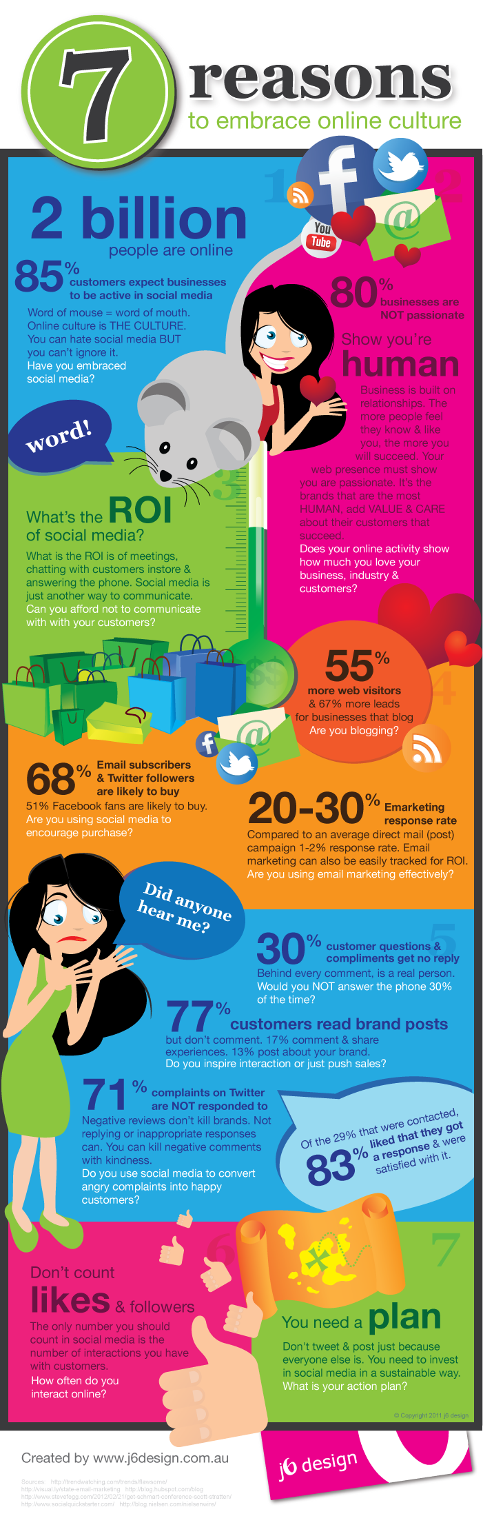 7 redenen om sociale media te omarmen