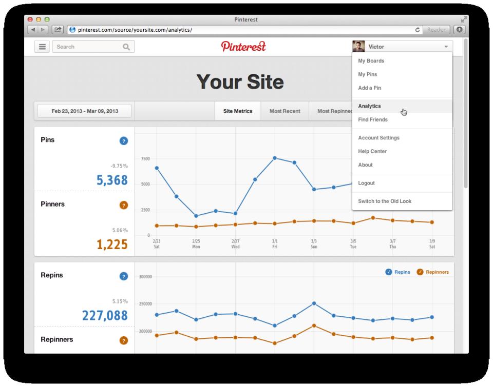pinterest-webanalytics