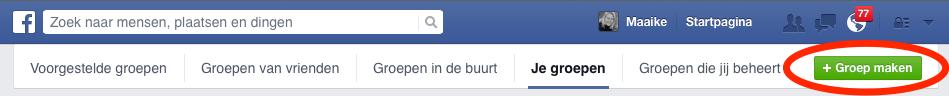 facebook-groep-maken