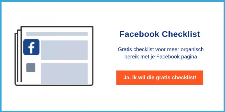 Gratis Checklist Facebook Tips