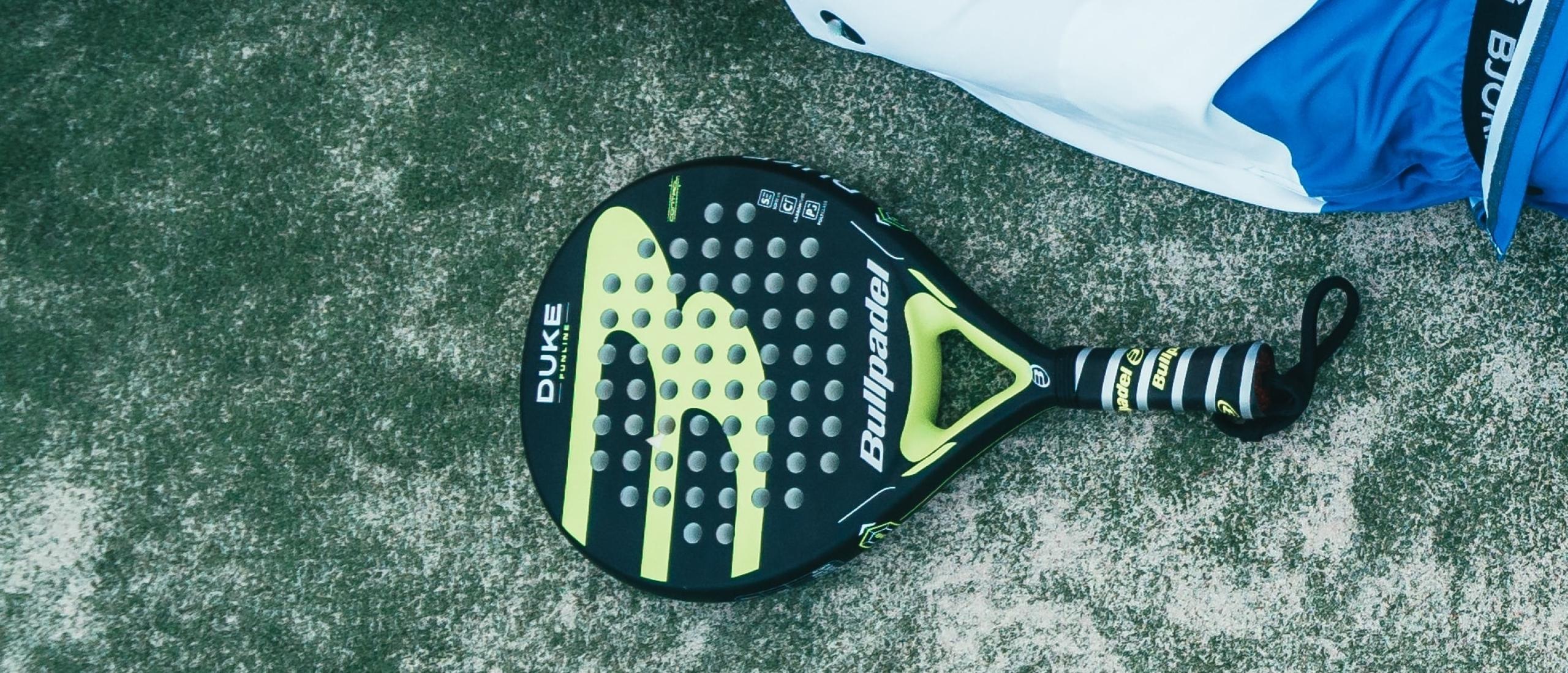 First padel racket