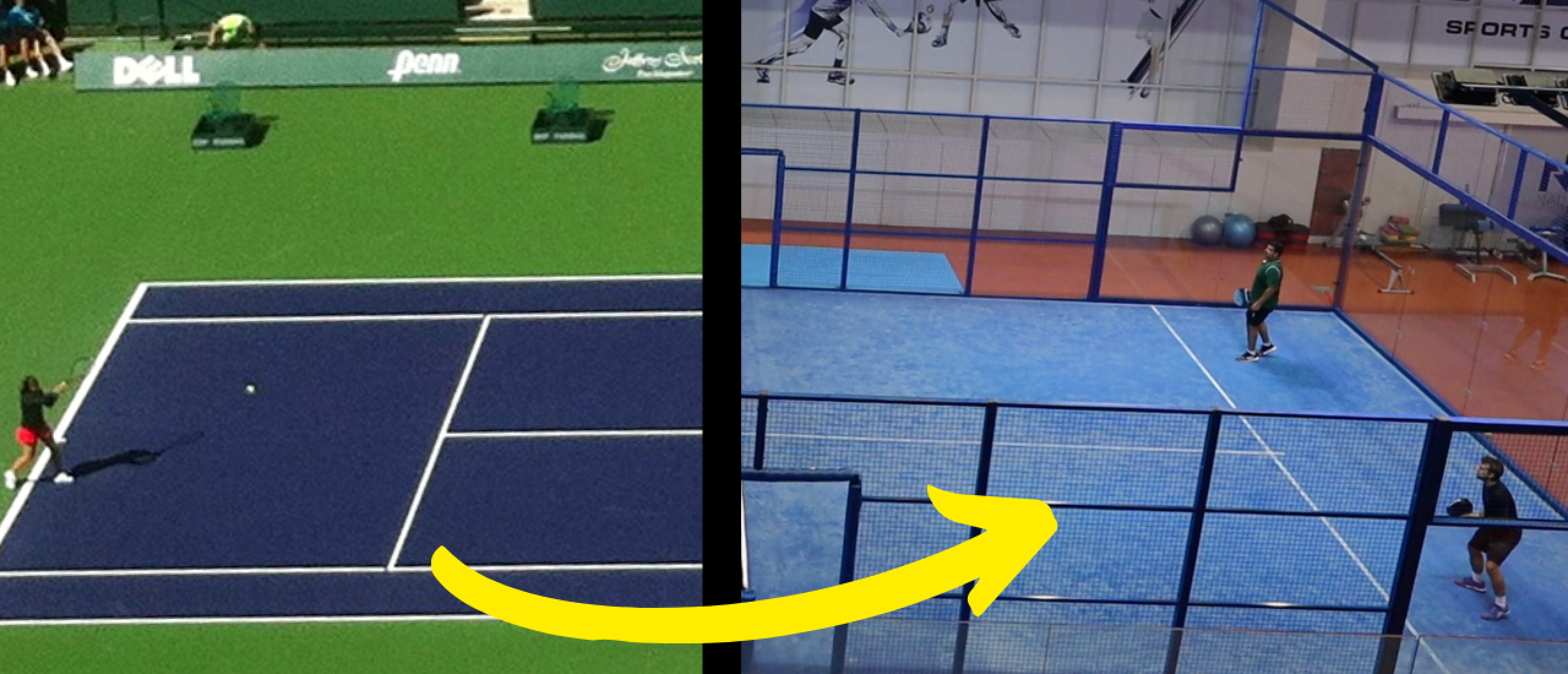 from tennis to padel