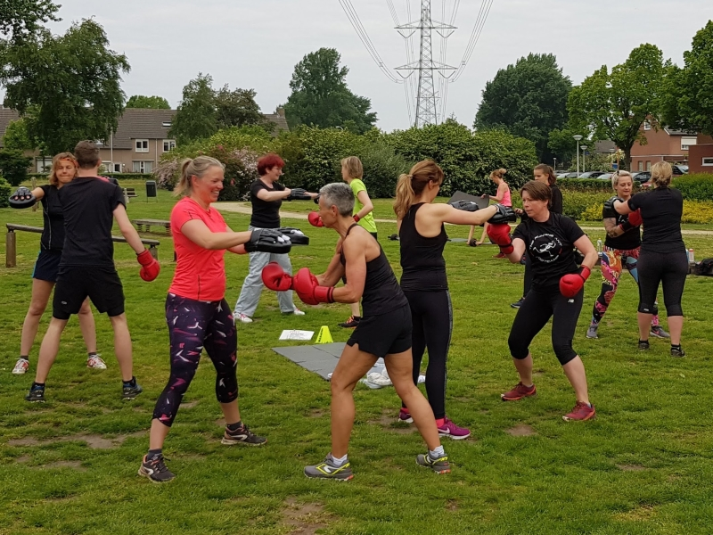 The Running Ant Bootcamp boxing training