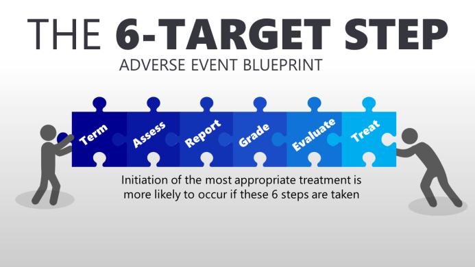 The 6-TARGET Step Adverse Event Blueprint