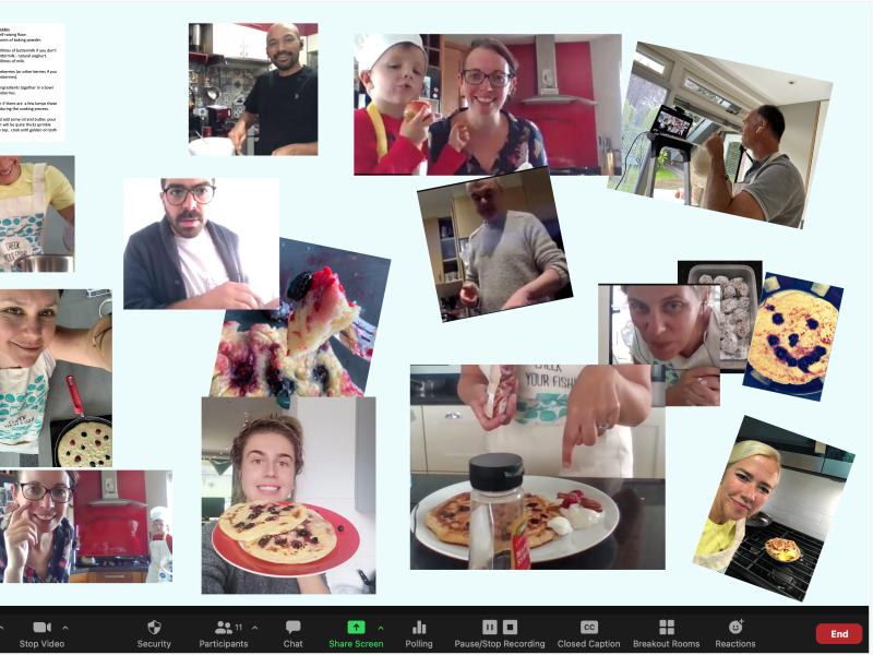ASC PAT Virtual Retreat Results - Lets cook