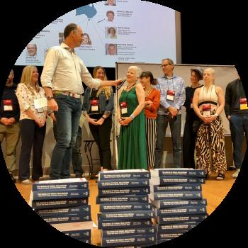 Jeroen Blijsie book launch The World of Visual Facilitation