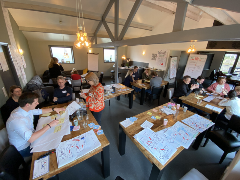 Visuele teambuilding - teamwork