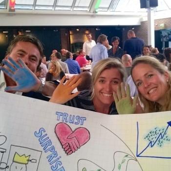 Visuele teambuilding bij Microsoft Nederland