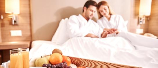 Overnachting in wellnessloft
