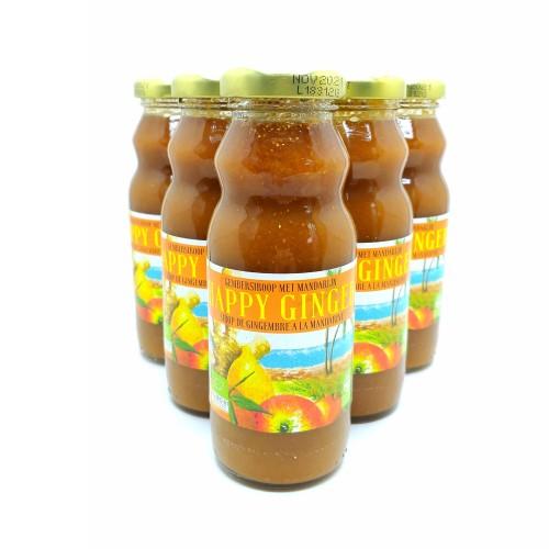 Vitonade Citroen BIOGembersiroop met appel en mandarijn