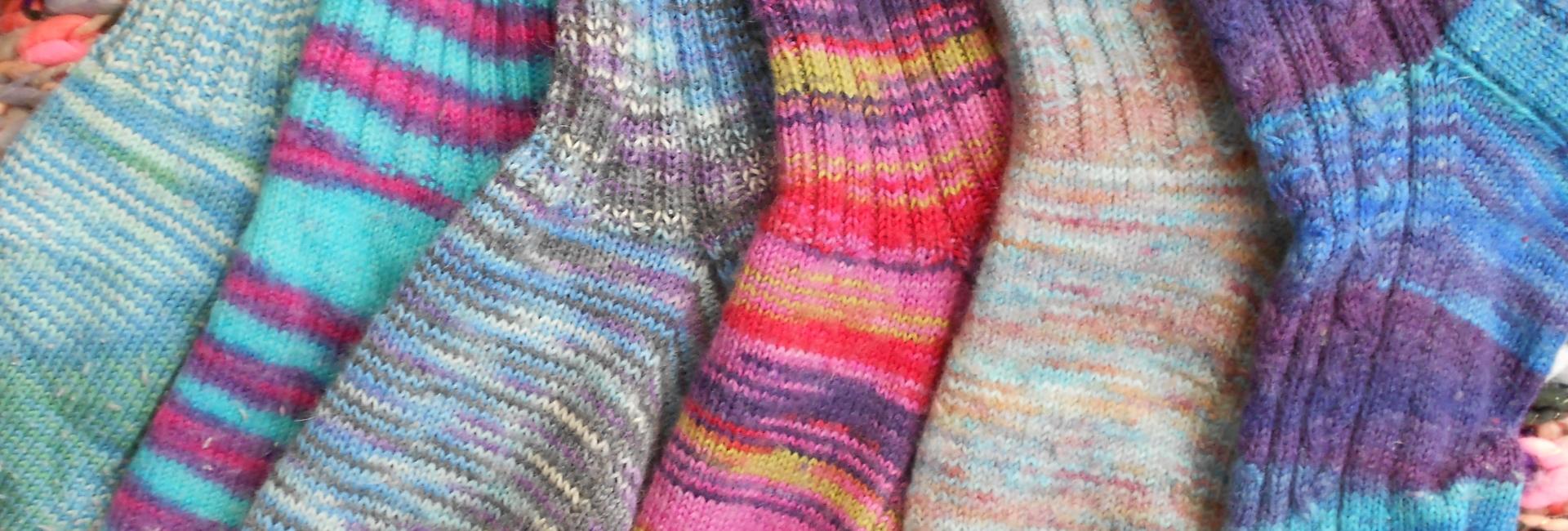 zeven sokken brengen geluk