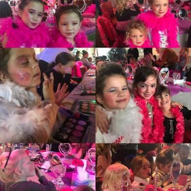 Beautyfeestje voor kinderen, make yp party