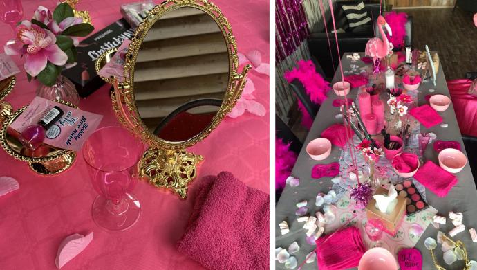 Beautyfeestje voor kinderen, make up party