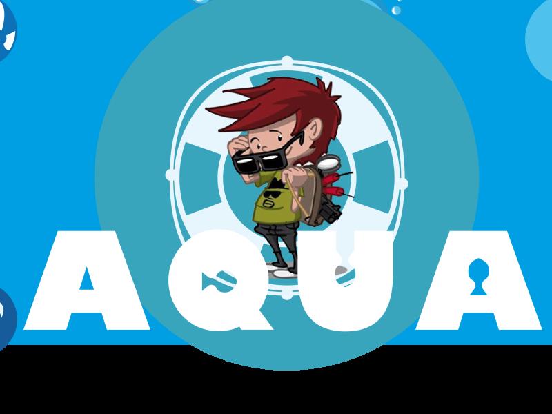 Bootcamp 4 Kids kinderfeestje thema Aqua