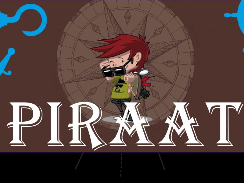 Bootcamp4kids kinderfeestje Piraat