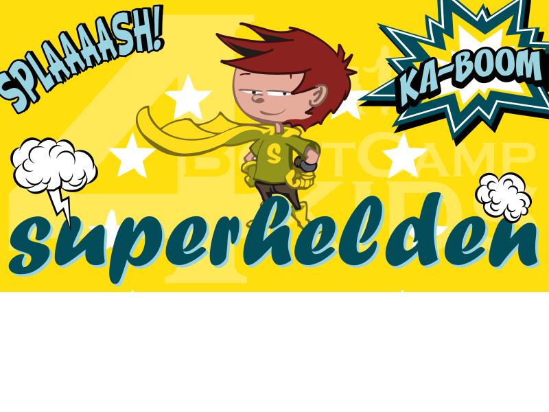 Bootcamp4kids kinderfeestje Superhelden