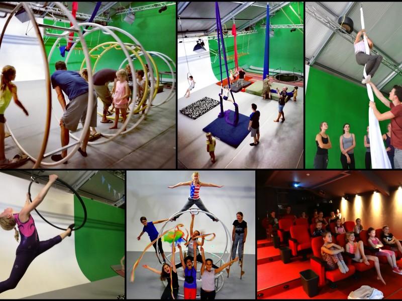 Circus Sensation kinderfeestje in Zaandam