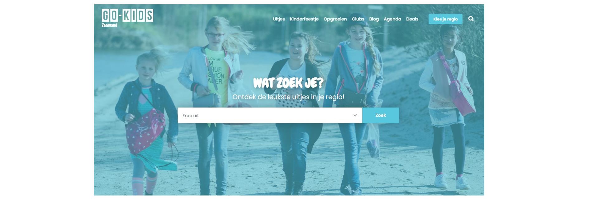 Homepage Go-Kids Zaanstreek-Waterland