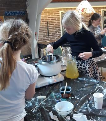 Workshop Kaarsen maken bij de Simonehoeve