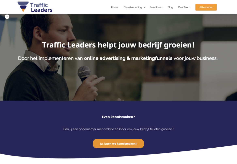 Traffic Leaders Homepage