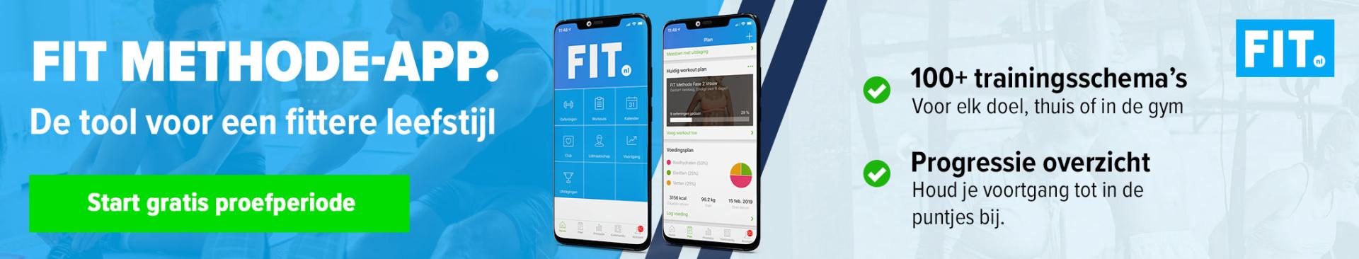 Fit methode app voeding, kracht en afslanken