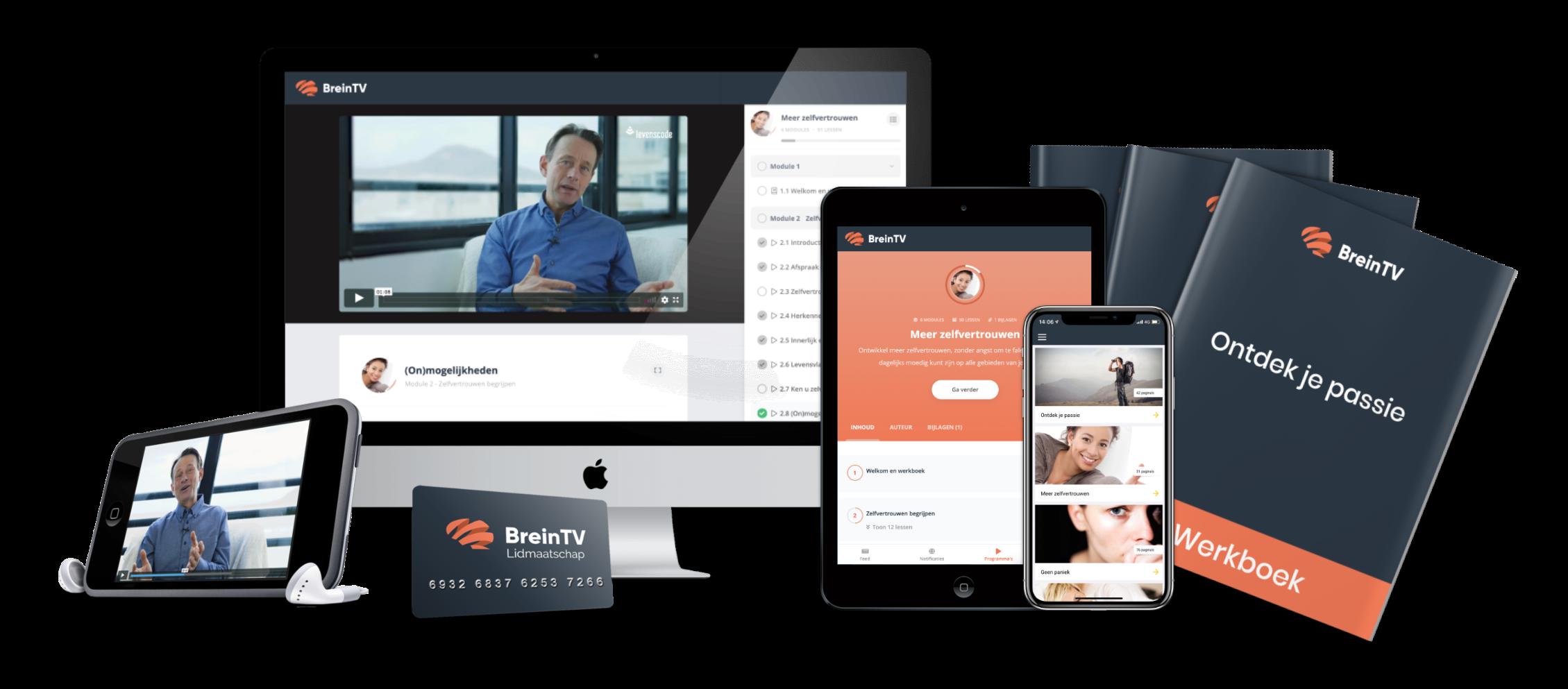 Word lid van BreinTV en ontdek alles voor jouw persoonlijke groei!