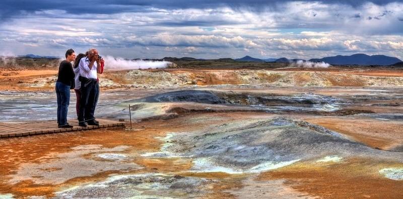 Actief vulkanisme in alle geuren en kleuren....