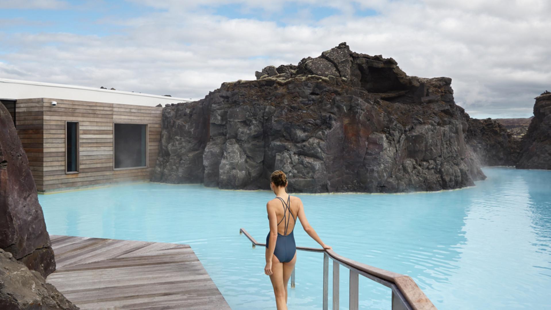 Exclusief genieten in het heerlijke water van de Blue Lagoon