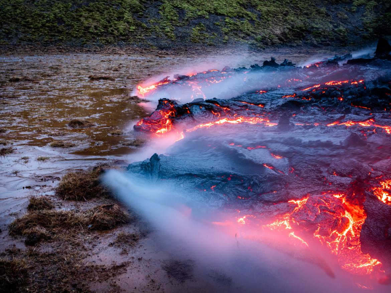 Lava op veroveringstocht
