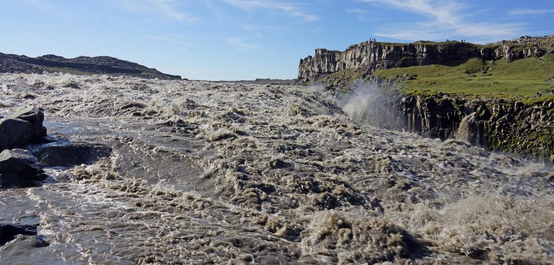 De waterval met het grootste debiet ... indrukwekkend