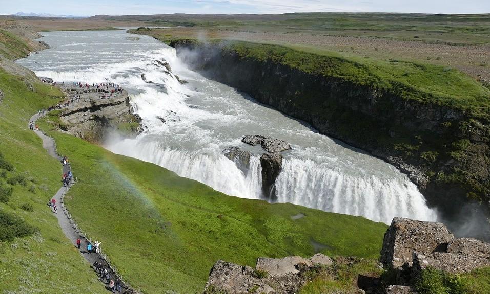 Grootste waterval van IJsland en Europa !